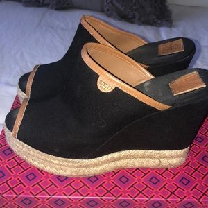 Tory Burch Wedge Mules